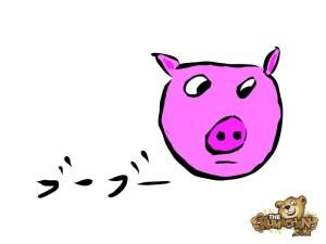 thekumachan_Pig_Drawing-1